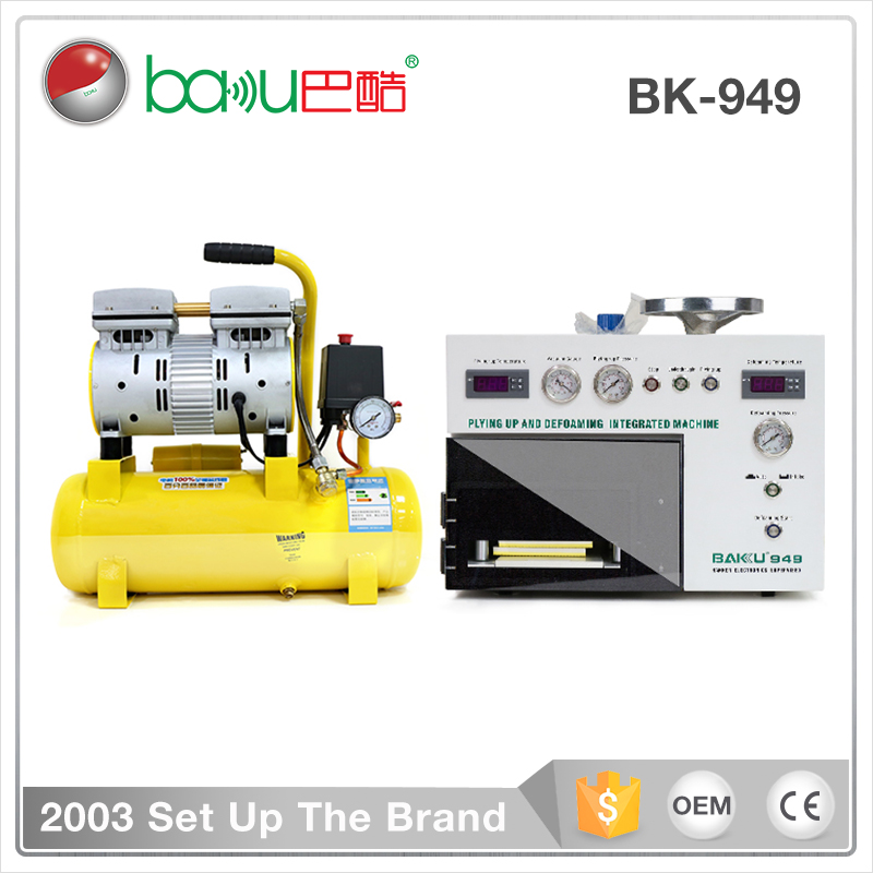 New design 5 in 1 Vacuum OCA Lamination Mobile repairing lcd touch screen glass separator machine
