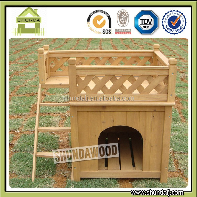 SDD01 Hot sell Outdoor Wooden Kennel Dog