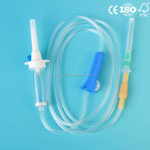 Disposable sterile iv infusion administration set