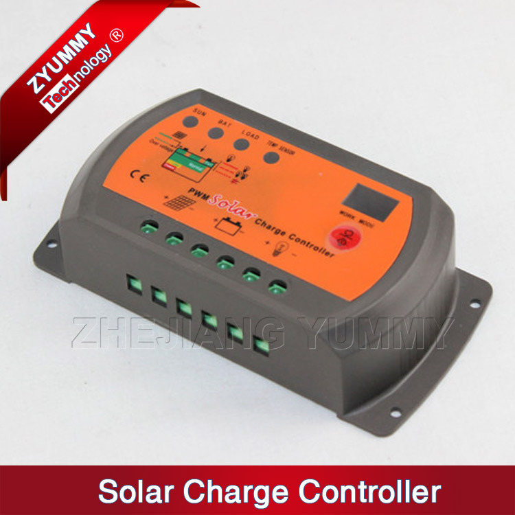Hot sale good price PV PWM solar charge controller 12V/24V Rated Voltage 10A-20A