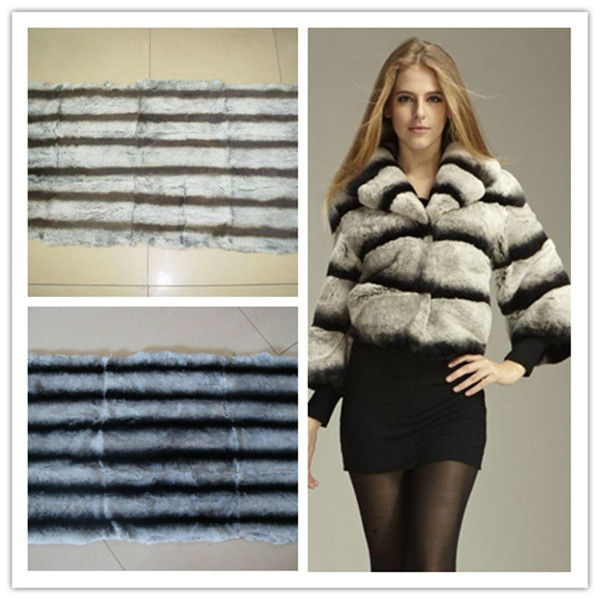 rex rabbit fur coat, fur knitted coat,garment
