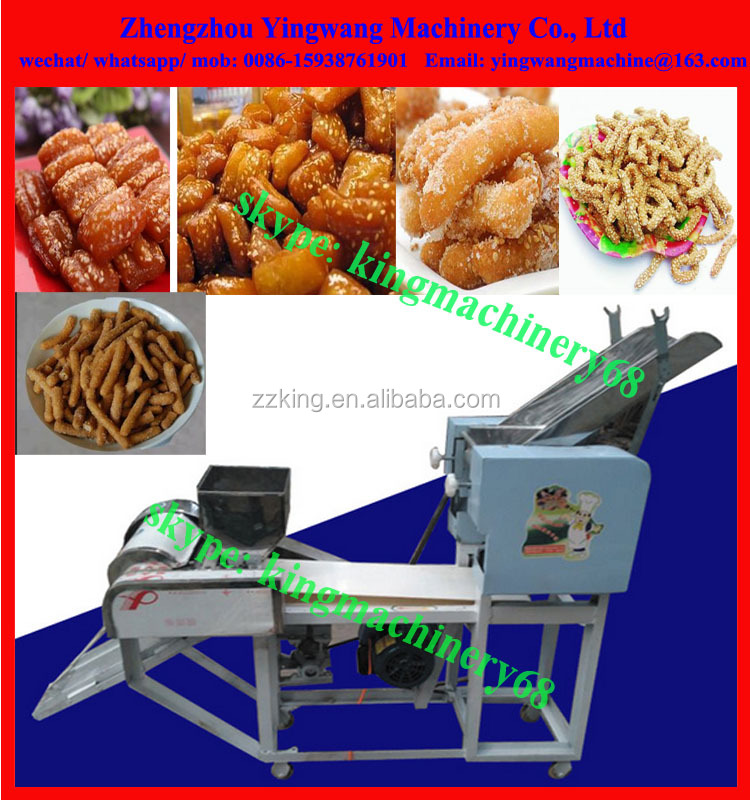 well tasted rice dessert making machine with diverse shapes