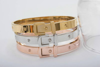 2015 new styles fashion bangle brand stainless steel jewelry