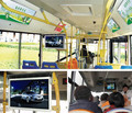 "21.5"" inch vehicle metro coach bus LCD 4G AD display screen with Android OS shockproof anti-glare function"