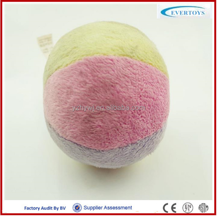 2016 newest plush toy ball transform puffer ball toy