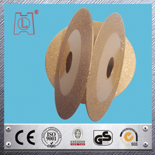 Golden color Electroplating Diamond cutting blade