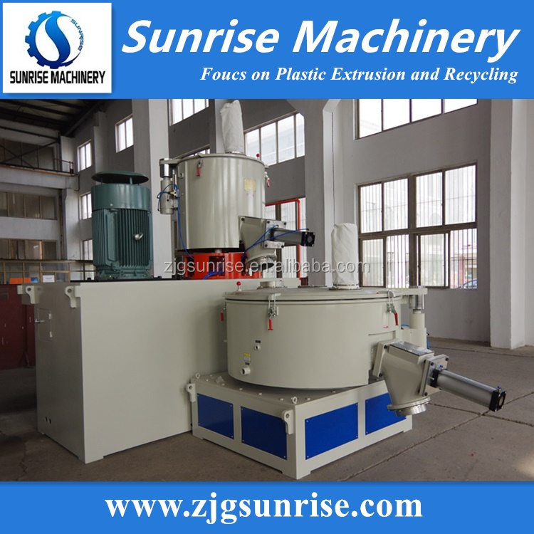 High Speed PVC Mixer and PVC Additives Auto Weighing System