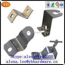 Customized metal cabinet hanging bracket,hanging shelf brackets ISO9001 and RoHS