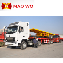 40ft 20ft container carrier flatbed semi trailer with CE for sale