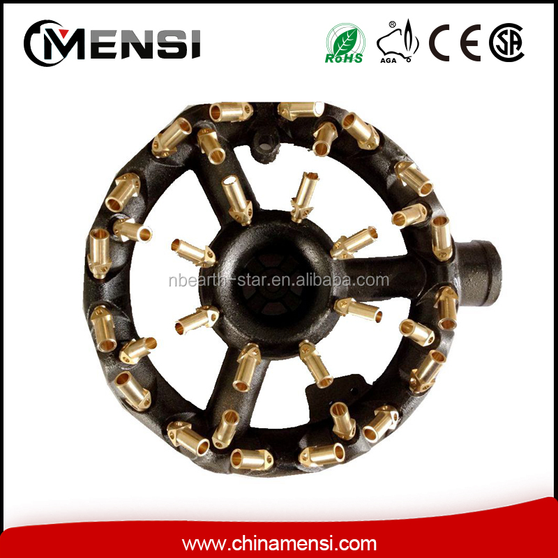 LPG gas 10 tips cast iron brass nozzle jet gas burner