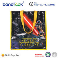 Customized printing PP woven shopping bag