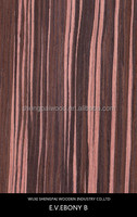 best price reconstituted ebony okoume wood face veneer for furniture hotel wall decoration