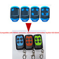 gate garage hopping code remote control replacement NOVA centurion 1 4 button