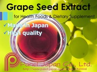 Japanese Grape Seed Extract Liquid With Oligomer Proanthocyanidins As Natural Antioxidant For Cosmetics For Skin Whitening