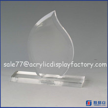 Manufacturer Clear Blank Award Gift,Popular custom design clear Acrylic blank award trophy