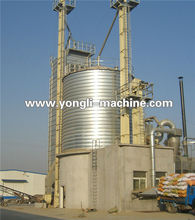 Small capacity screw rice grain steel silos