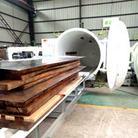 HFVD100-SA Wood Furniture Drying Machine/High Frequency Working