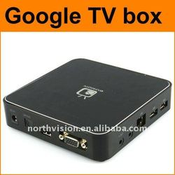 google TV set-top box, android 2.3, full HD 1080P, 2.4G wireless