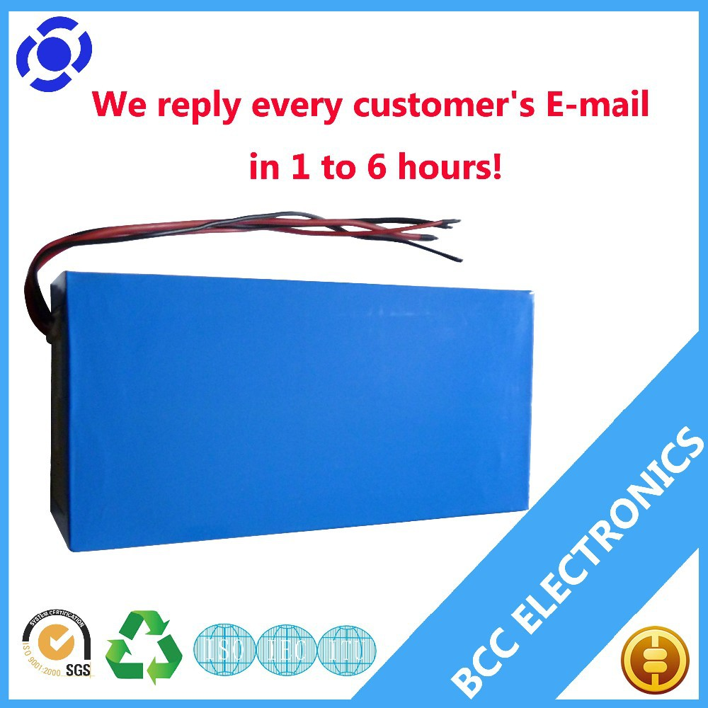 Rechargeable e-bike lifepo4 battery 36v 16ah with BMS