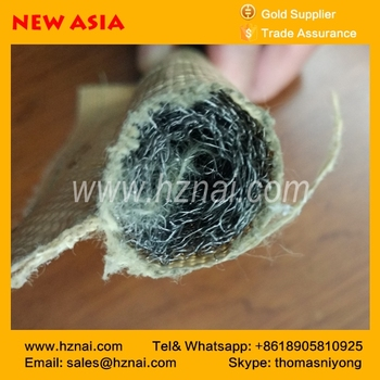 hot selling Gold Kevlar Tadpole Seal Fiberglass gasket for heat resistant l China factory price