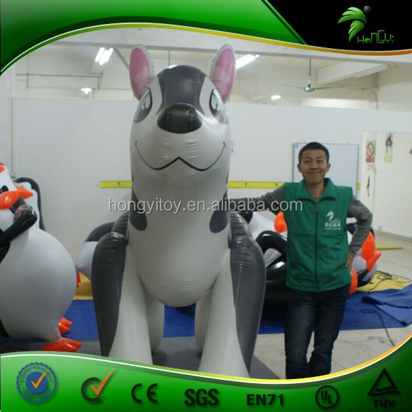Homemade Famous Creative Custom Inflatable Husky/Inflatable Dog Fashion Cute Design cartoon Animal