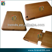 wood tablet case for Ipad mini, blank wood case for ipad mini