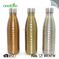 2017 CopperWater Bottle Double Wall Insulated Thermal Stainless Steel Water Bottle 500ml With Stamping Finished