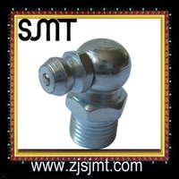 M10X1 white zinc plating grease nipple fitting specifications