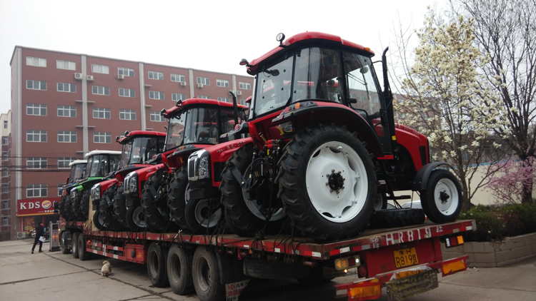 LT554 Lutong 55HP Cheap farm tractor china suppliers