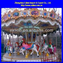 Superior model children theme park carousel rides for sale