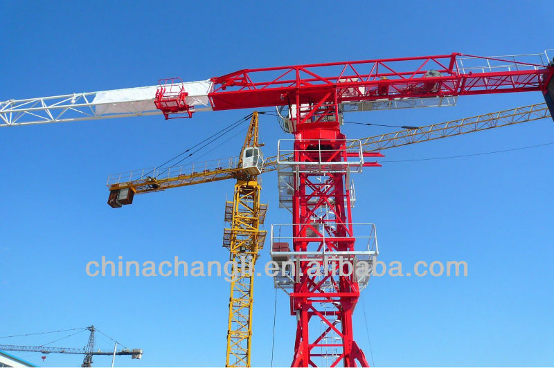 CE ISO Certified! topless chinese tower crane
