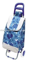 Shopping trolley bag with 600D printing color