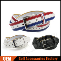 Custom Made Fashion Leather Golf Belts For Men