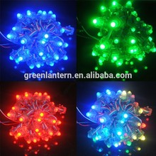 outdoor waterproof IP67 wholesale f5 led string 9mm punch led single color light