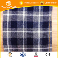 100 cotton yarn dyed shirting fabrics for sale