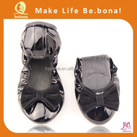 2014 fashion women folding ballet dance club shoes