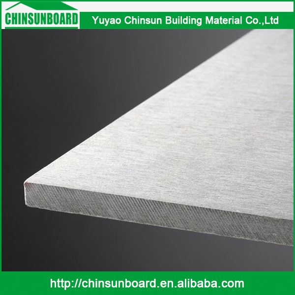 Superior Materials Moderate Price Waterproof Fireproof Colored Fibre Cement Cladding Sheet / Coloured Fiber Cement Board