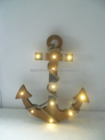 Anchor Wall Hanging with Led lights
