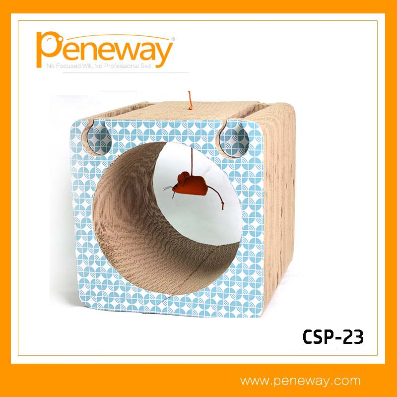 Factory direct cheap Cardboard cat scratcher post for Car Wrapping