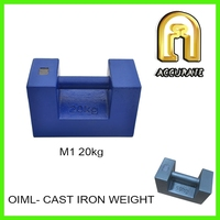 20kg 500kg 1000kg load test weights, crane counter weight