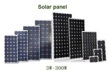 100W 150W 200W 250W poly mono china solar panels solar cell panel manufacturer price