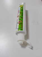 Hotel empty toothpaste packaging tube with small size