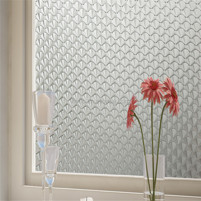 liquid crystal film decorative stained glass window film self adhesive decorative film