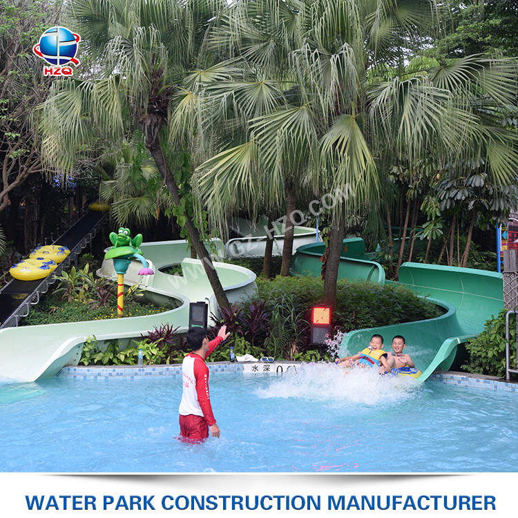 Factory direct supply quite fentle slope kids / adults entertainment spray water park equipment