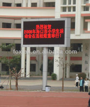 outdoor advertising sign led p10 indoor/outdoor single R/Y/G/B/ led moving sign