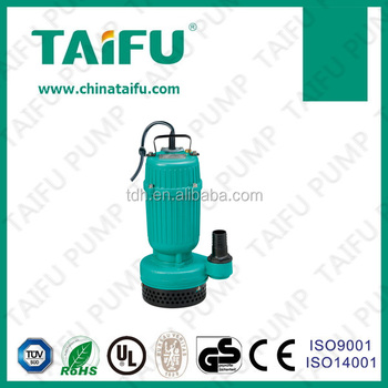 TPS250 2015 TAIFU new good quality electric 1hp mini submersible pump with float switch