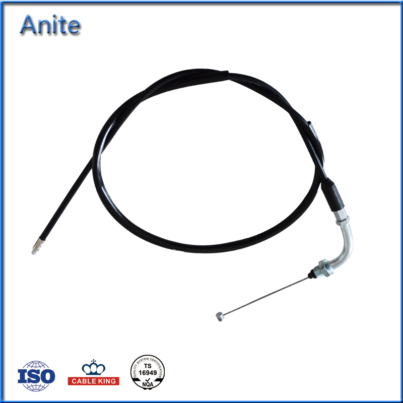 Wholesale Price Competitive AKT125 NKD Motorcycle Throttle Cable Control Accelerator Cables Parts