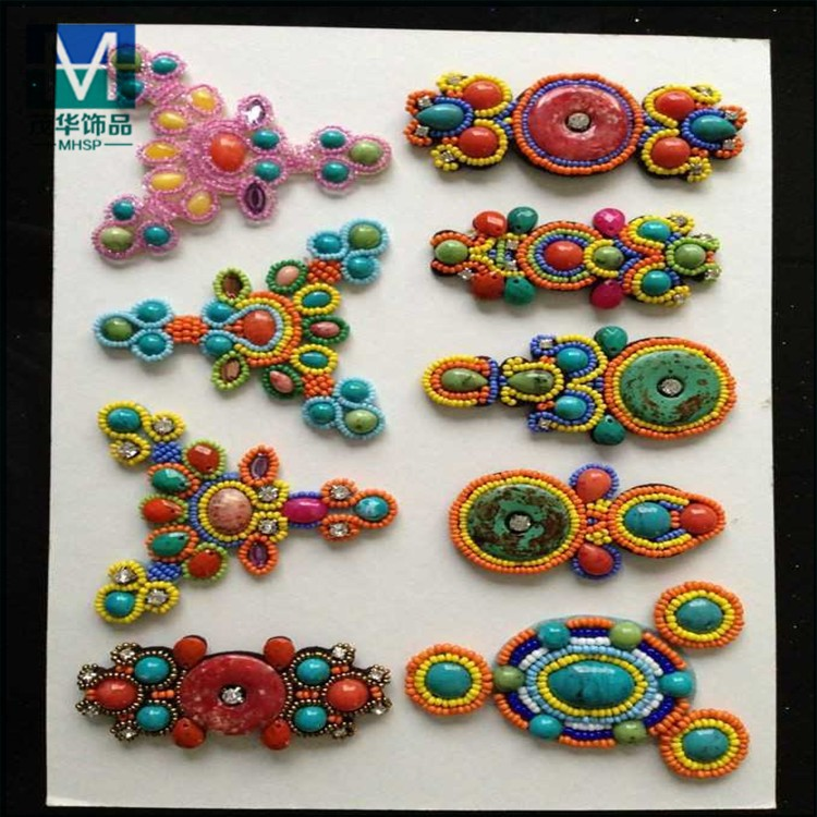 2015 fashion fabric flower for sandal shoes D0007