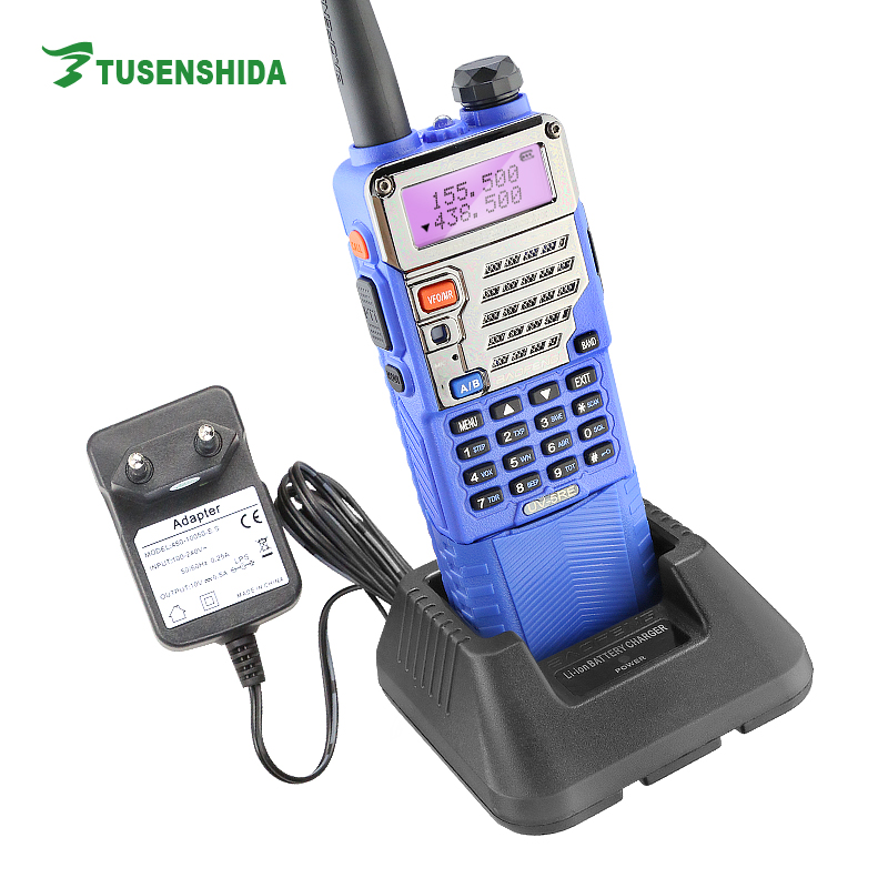Free Communication Equipment Bao Feng Easy Talk Digital Radio UV-5RE Plus Transceiver