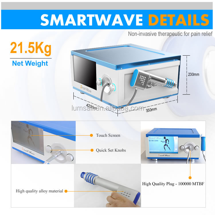 portable shockwave equipment pain relieving machine